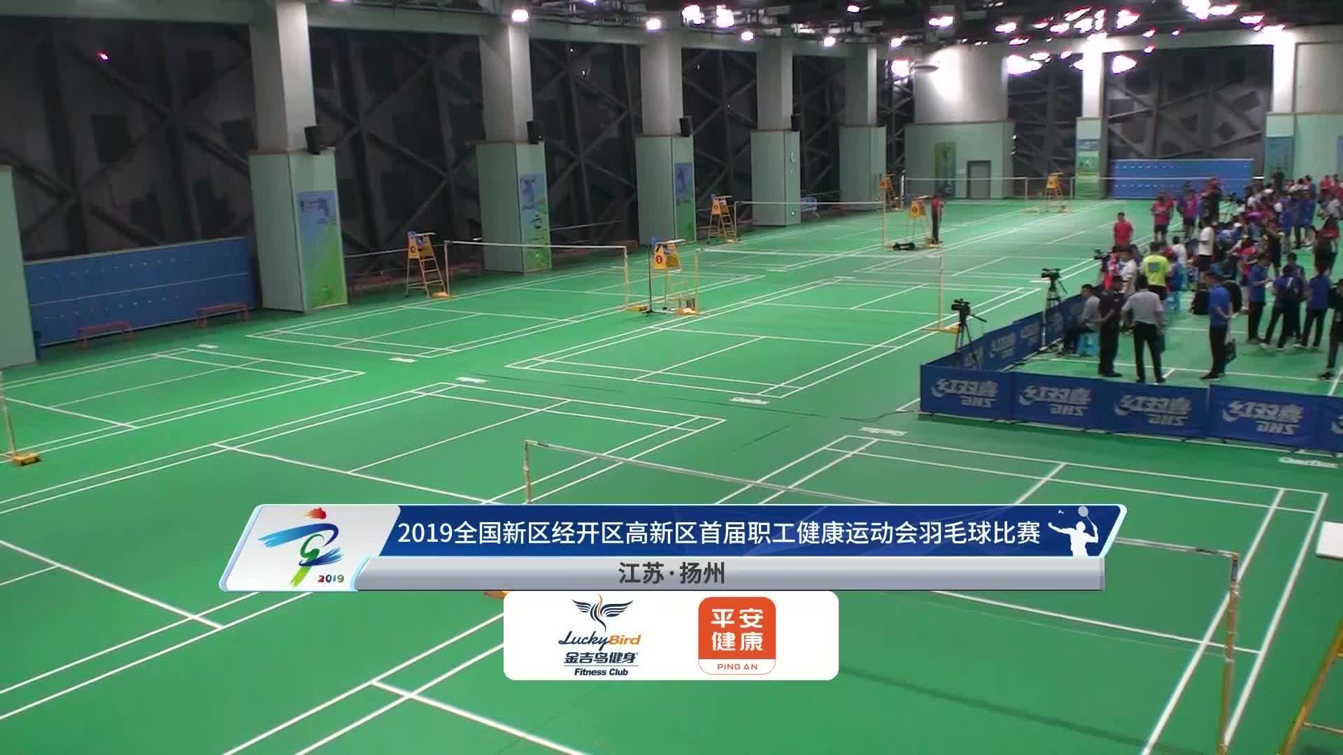 全国新区经开区高新区首届职工健康运动会羽毛球比赛2